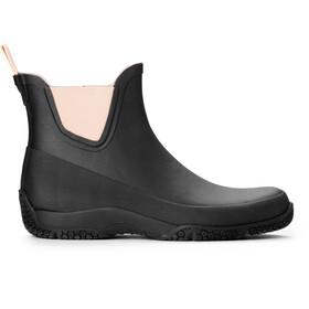 Tretorn Port Low Rubber Boots black/blossom